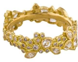 Armenta 18K Diamond Sueno Cluster Stack Ring