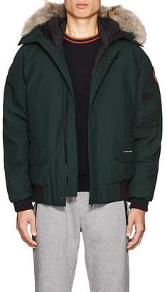 Canada Goose Men's Chilliwack Fur-Trimmed Down Bomber Jacket