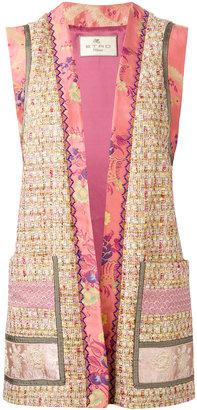 Etro open waistcoat $1,780 thestylecure.com