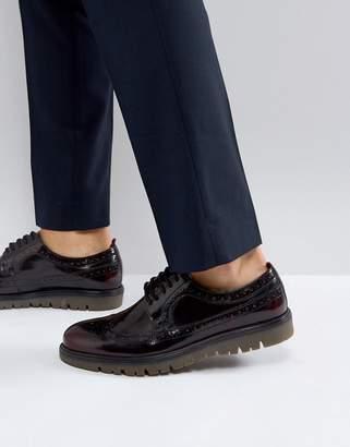 WALK LONDON Walk London Timmy Chunky Brogue Shoes