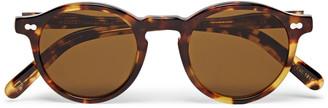 MOSCOT Miltzen Round-Frame Tortoiseshell Acetate Sunglasses