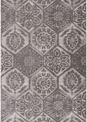 Asstd National Brand Mosaic Rectangular Rug