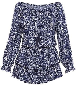 Sirena Paolita La Printed Short Dress Multi