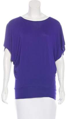 Zero Maria Cornejo Draped Dolman Sleeve Top