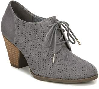 Dr. Scholl's Perforated Detail Stacked Heel Oxford - Credit II