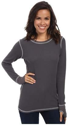 Allen Allen L/S Thumbhole Tee Thermal Crew Women's Long Sleeve Pullover