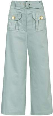 Alexis Belted Crop Everette Trousers