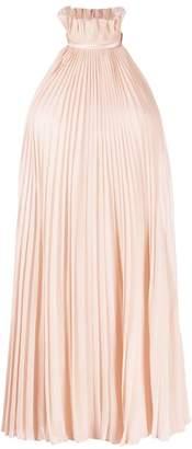 Givenchy pleated halterneck dress