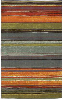 JCPenney Mohawk Home Rainbow Stripe Washable Runner Rug