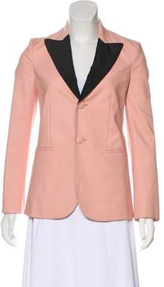 RED Valentino Long Sleeve Peak-Lapel Blazer