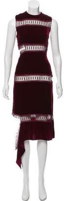 Christopher Kane Velvet Deconstructed Dress Velvet Deconstructed Dress