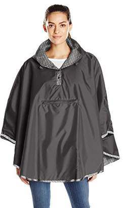 Totes Women's Reversible Rain Poncho $60 thestylecure.com