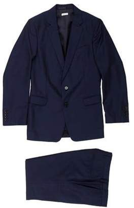 Dries Van Noten Woven Two-Piece Suit navy Woven Two-Piece Suit