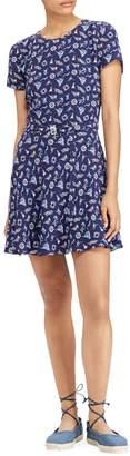 Ralph Lauren Belted Mini Dress
