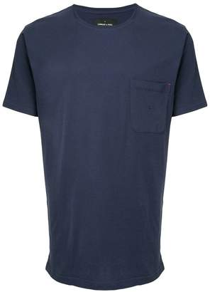 Commune De Paris chest pocket T-shirt