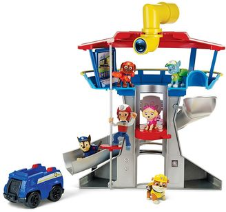 Paw Patrol Lookout Playset with 6 Pup Figures $69.99 thestylecure.com