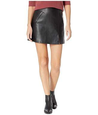 cd223d212a Blank NYC Vegan Leather Mini Skirt in Latch On