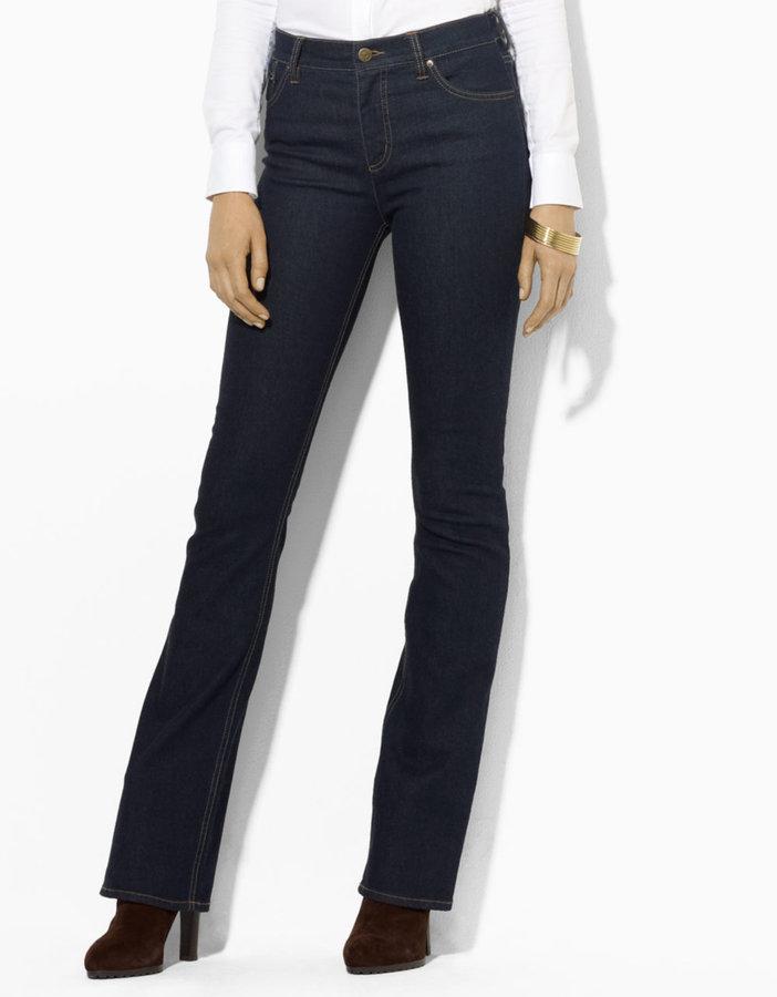 Lauren Ralph Lauren Slimming Classic Bootcut Jean