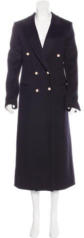 Celine Céline Wool Long Coat
