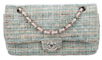 Chanel Tweed Medium Double Flap Bag