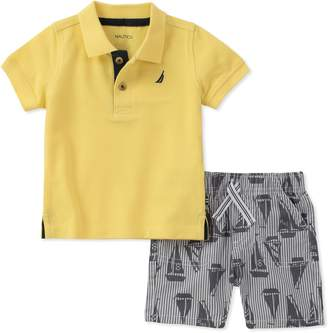 Nautica Baby Boys Polo with Shorts