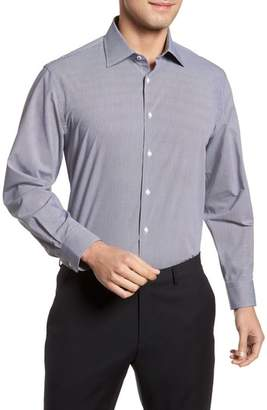Nordstrom Tech-Smart Traditional Fit Stretch Microdot Dress Shirt