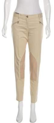 Dolce & Gabbana Mid-Rise Skinny Pants Khaki Mid-Rise Skinny Pants