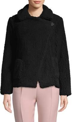 BB Dakota Faux Fur Long-Sleeve Jacket