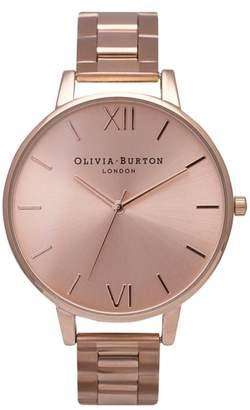 Olivia Burton Big Dial Bracelet Watch, 38mm