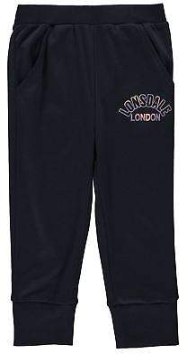 Lonsdale London Kids Girls three quarter Pants Junior Three Quarter Jogging Bottoms