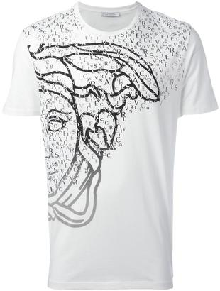Versace Collection logo print T-shirt $116.44 thestylecure.com