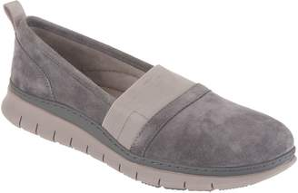Vionic Suede Slip-On Shoes - Kristi