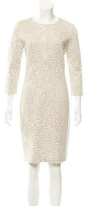 Narciso Rodriguez Paneled Abstract Print Dress w/ Tags