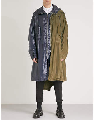 Juun.J JUUN J Oversized shell coat