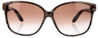 Jimmy ChooJimmy Choo Cass Snakeskin Printed Sunglasses