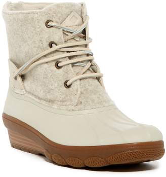 Sperry Saltwater Wedge Tide Wool Blend Boot