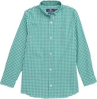 Vineyard Vines Rockridge Poplin Whale Shirt