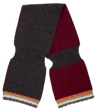 Dries Van Noten Striped Knit Scarf