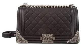 Chanel Medium Paris-Dallas Cowboy Boy Bag