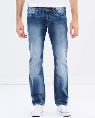 Pepe Jeans Kingston Zip Straight Jeans