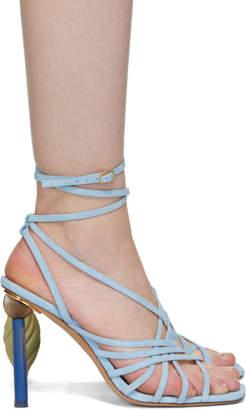 Jacquemus Blue Les Sandales Pisa Sandals