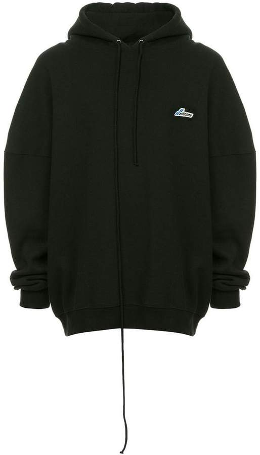 We11done hooded sweatshirt