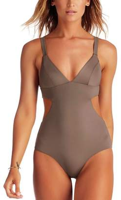 Vitamin A Ava Maillot Full One-Piece Swimsuit - Women's $126.75 thestylecure.com