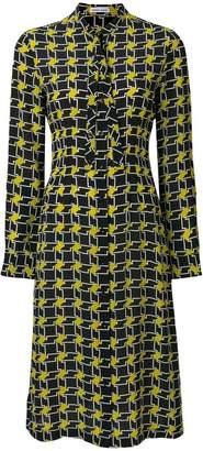 Tomas Maier puzzle print dress