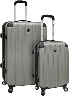 Traveler's Club Travelers Club 2-Piece Hardside Spinner LuggageSet - Chicago