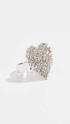 Suzanne Kalan 18K Heart Ring