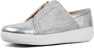 FitFlop F-Sporty Ii Leather Zip Sneakers