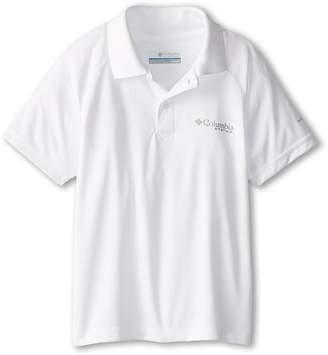 Columbia Kids Terminal Tackletm Polo Shirt Boy's Short Sleeve Pullover