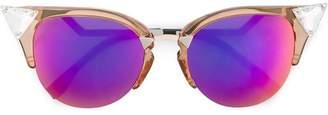 Cat Eye Fendi Eyewear multicoloured iridia cat-eye sunglasses