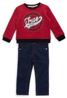 True Religion Baby's Two-Piece Top and Woven Jeans
